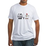 Cow Chicken Egg? Fitted T-Shirt