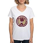 JMGNole SmartassTees Women's V-Neck T-Shirt