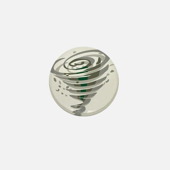 Tornado Mini Button