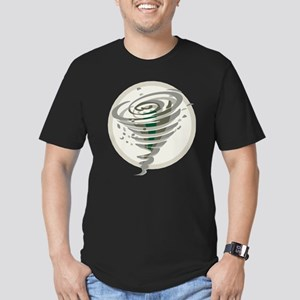 Tornado Men's Fitted T-Shirt (dark)