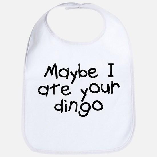 Maybe I Ate Your Dingo Bib