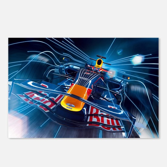 Cool F1 Postcards (Package of 8)