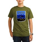 USS DACE Organic Men's T-Shirt (dark)
