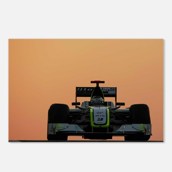 Funny F1 Postcards (Package of 8)