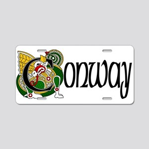 Conway Celtic Dragon Aluminum License Plate