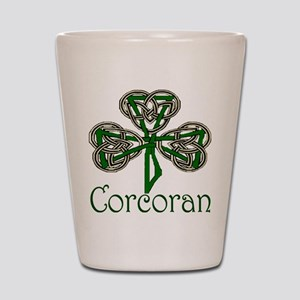 Corcoran Shamrock Shot Glass