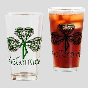 McCormick Shamrock Drinking Glass