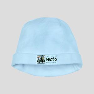 Abbott Celtic Dragon baby hat