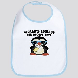 World's coolest birthday boy Bib