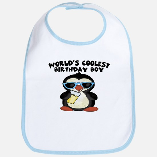 World's coolest birthday boy Bib
