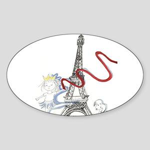 Princess Smartypants Sticker (Oval)