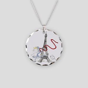 Princess Smartypants Necklace Circle Charm