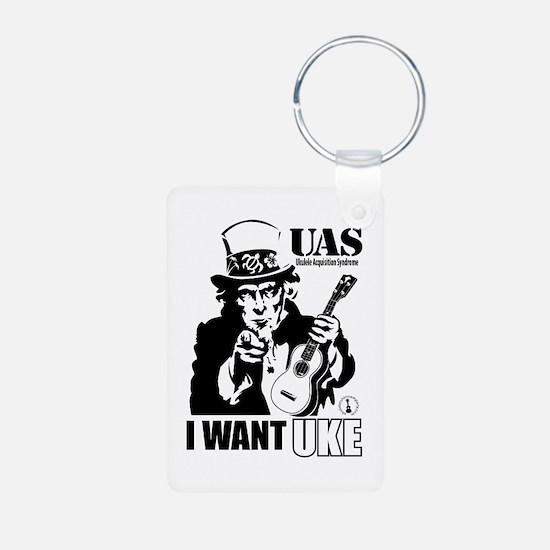 I WANT UKE Keychains