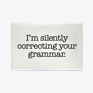 Corrected Grammar Rectangle Magnet (100 pack)