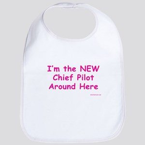 New Chief Pilot (Girl) Bib