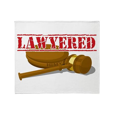 HIMYM: Lawyered Throw Blanket