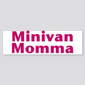 Minivan Momma Sticker (Bumper)