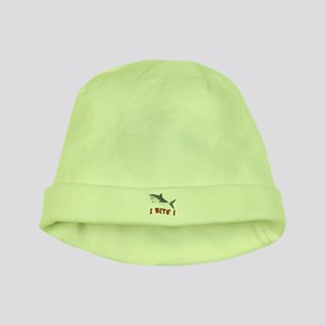 Shark - I Bite - baby hat