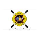 Fire Paddle 38.5 x 24.5 Wall Peel
