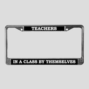Teachers License Plate Frame