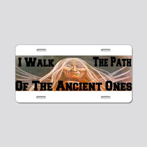 Path of the Ancient Ones Aluminum License Plate