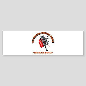 SOF - 1st SSF - Black Devils Sticker (Bumper)