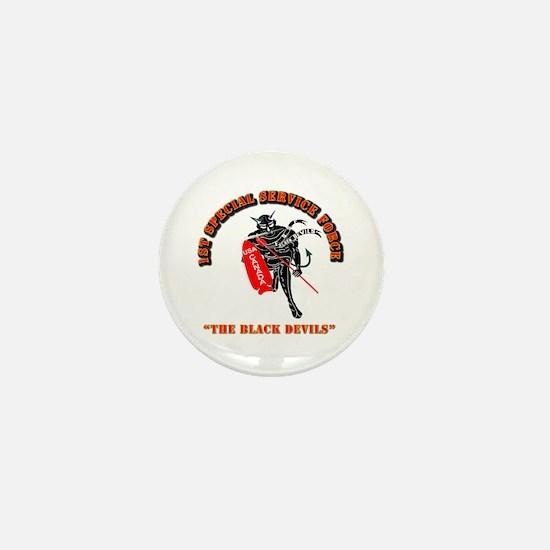 SOF - 1st SSF - Black Devils Mini Button