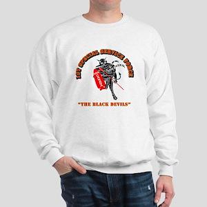 SOF - 1st SSF - Black Devils Sweatshirt
