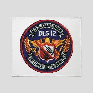 USS DAHLGREN Throw Blanket