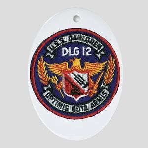 USS DAHLGREN Ornament (Oval)