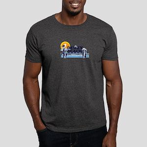 Dewey Beach DE - Pier Design Dark T-Shirt