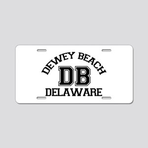Dewey Beach DE - Varsity Design Aluminum License P