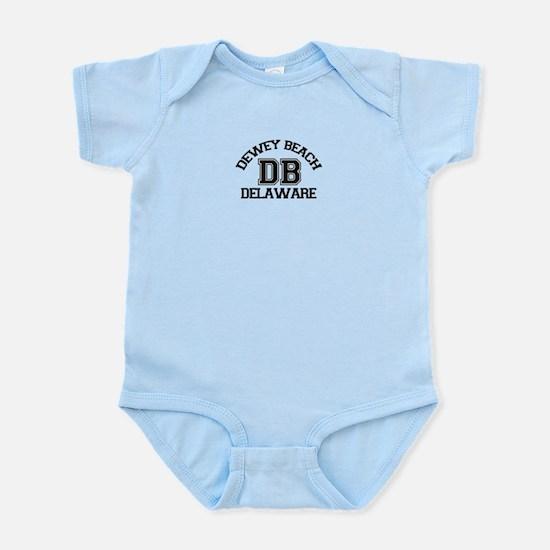 Dewey Beach DE - Varsity Design Infant Bodysuit