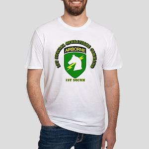 SOF - 1st SOCOM Fitted T-Shirt