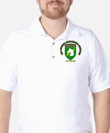 SOF - 1st SOCOM Golf Shirt