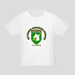 SOF - 1st SOCOM Toddler T-Shirt