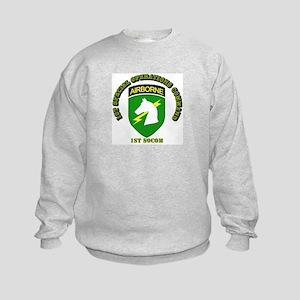 SOF - 1st SOCOM Kids Sweatshirt