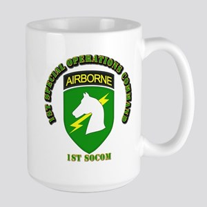 SOF - 1st SOCOM Large Mug