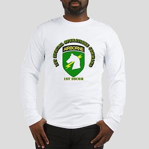 SOF - 1st SOCOM Long Sleeve T-Shirt