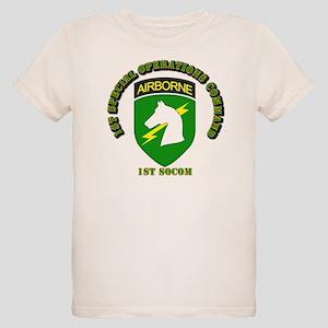 SOF - 1st SOCOM Organic Kids T-Shirt