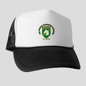 SOF - 1st SOCOM Trucker Hat