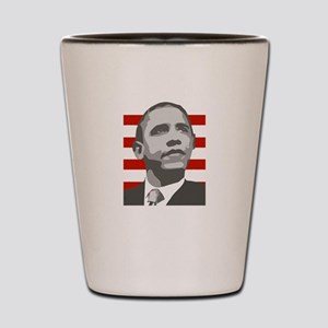 ObamaShops Shot Glass