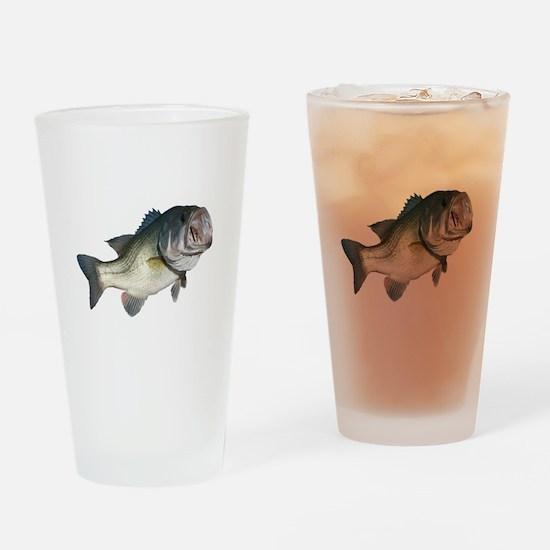 Bass Fisherman Pint Glass