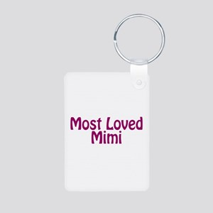 Most Loved Mimi Aluminum Photo Keychain