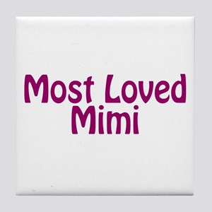 Most Loved Mimi Tile Coaster