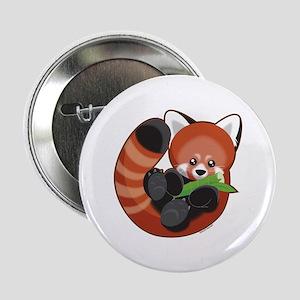 "Red Panda 2.25"" Button"