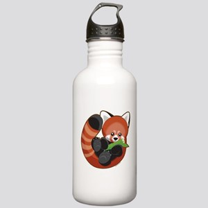 Red Panda Stainless Water Bottle 1.0L