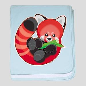 Red Panda baby blanket