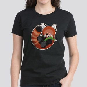 Red Panda Women's Dark T-Shirt