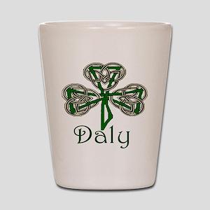 Daly Shamrock Shot Glass